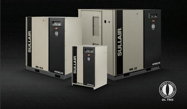 Sullair_SLR_Scroll_oil-free_air_compressor