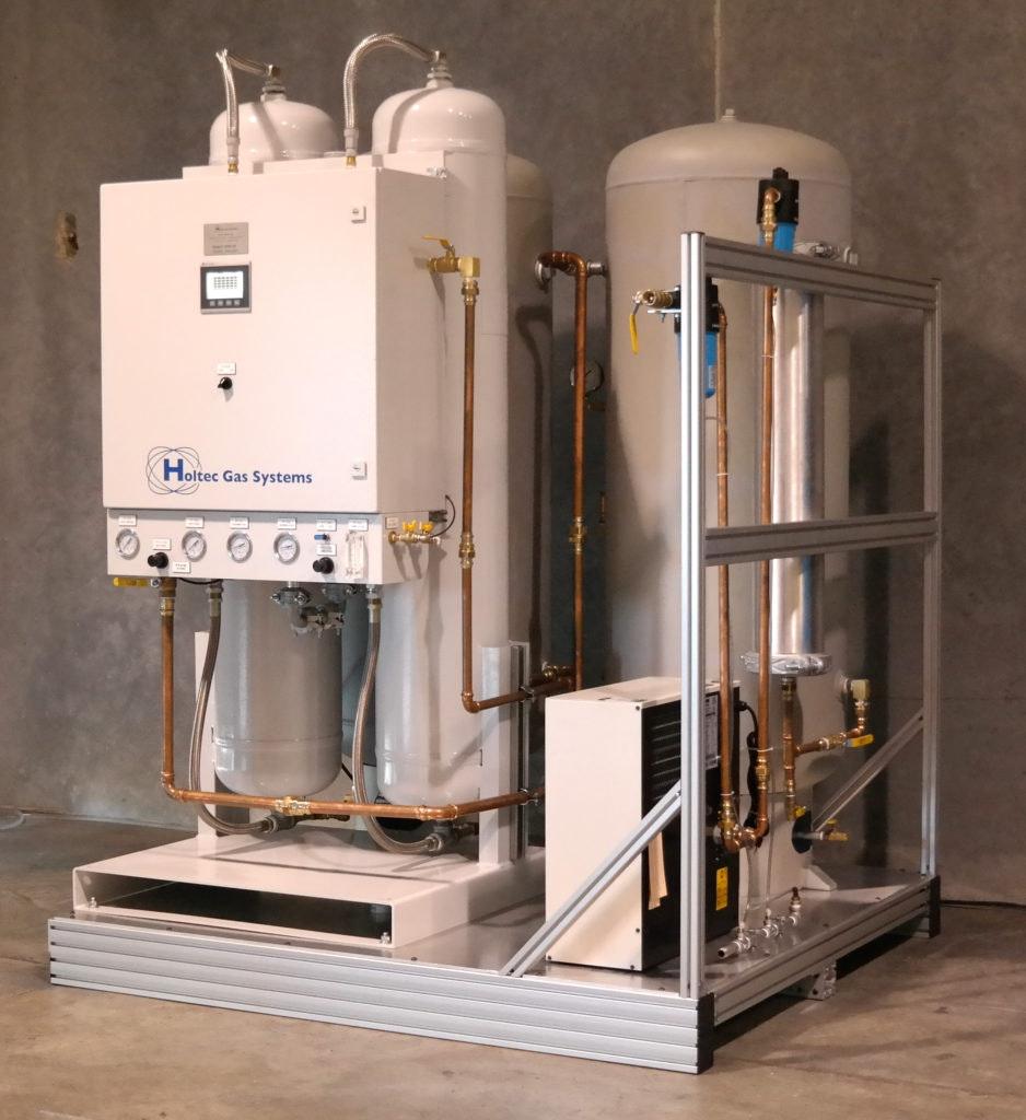Atlas' New Holtec Nitrogen Generator