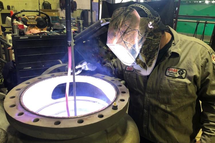 bore-welding